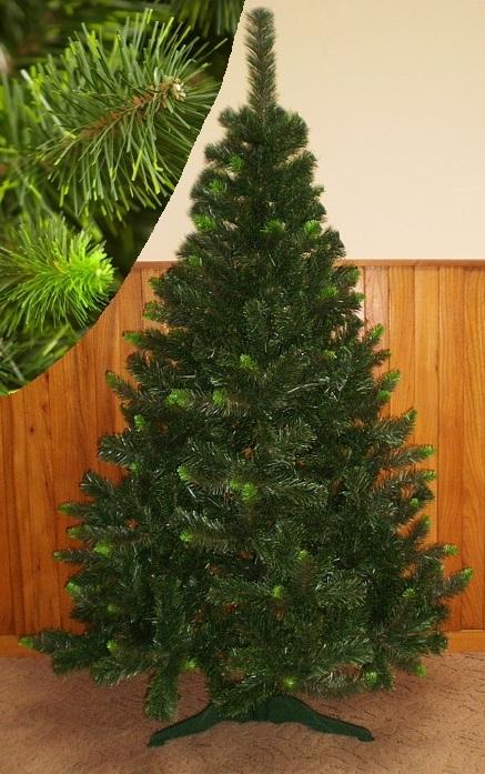 Umelý vianočný stromček Borovica Kanadská zelen - Vianočné stromčeky ... 9909ff25579