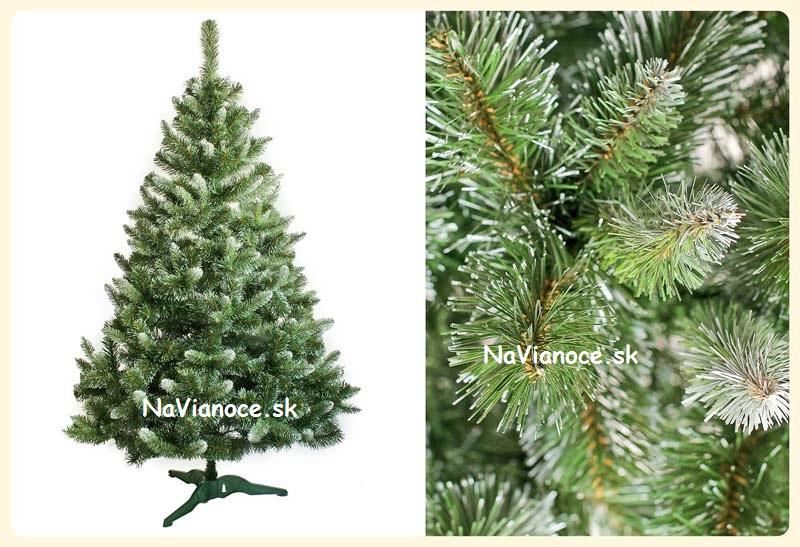 Umelý vianočný stromček zasnežená ANNA - Vianočné stromčeky na ... 8122d7a33d8